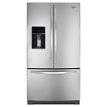 25 cu. ft. Whirlpool® French Door Refrigerator with MicroEdge® Shelves