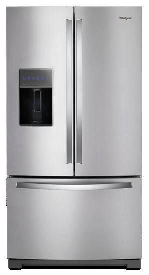 36 Inch Wide French Door Refrigerator 27 Cu Ft Whirlpool