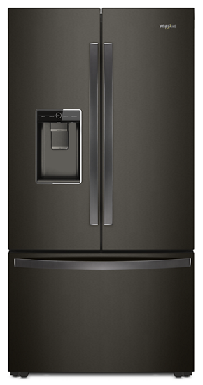 image & 36-inch Wide French Door-within-Door Refrigerator with Cold Space ...