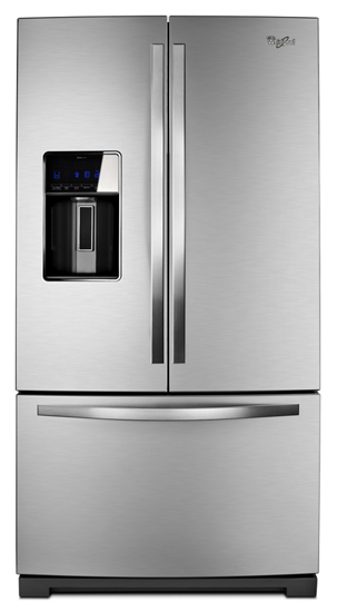 36 Inch Wide French Door Refrigerator With Coolvox