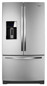 36-inch Wide French Door  Refrigerator with CoolVox™ Kitchen Sound System - 27 cu. ft.