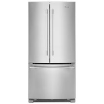 33 Inch Wide French Door Refrigerator 22 Cu Ft