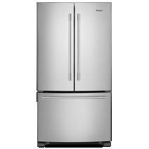 Réfrigérateur à portes françaises de 36 po avec tiroir bac à légumes, 25 pi3