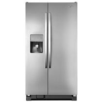 Réfrigérateur côte à côte 21 pi cu Whirlpool® avec distributeur d'eau