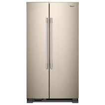 36 Inch Wide Side By Refrigerator 25 Cu Ft
