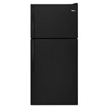 "Whirlpool® 30"" Wide Top-Freezer Refrigerator with Flexi-Slide™ Bin"