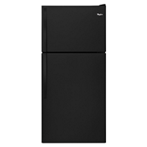 "Whirlpool® 30"" Wide Top-Freezer Refrigerator with Flexi-Slide™ Bin"