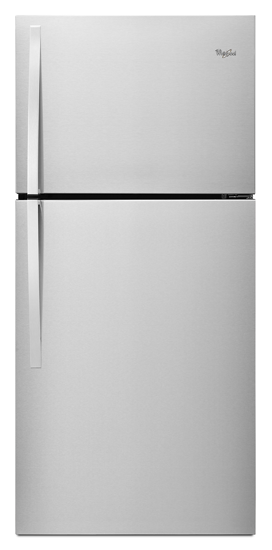 30 inch wide top freezer refrigerator 19 cu ft whirlpool image asfbconference2016 Image collections