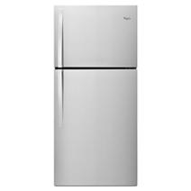 Réfrigérateur à congélateur supérieur Whirlpool® de 30 po – Compatible avec la trousse de machine à glaçons EZ Connect – 19,2 pi³