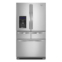 Whirlpool® 26 cu. ft. Double Drawer Refrigerator with Dual Icemakers