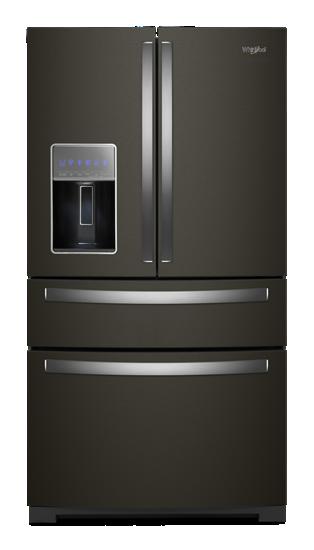 36 Inch Wide 4 Door Refrigerator With Exterior Drawer 26
